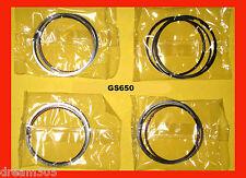 Suzuki GS650 Piston Ring Set x4 Sets! STD. size 1981 1982 1983  #12140-34240