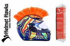 Helmet Hawks ™ Mohawks Motorcycle BMX Bike Helmet COLORFUL Hair Mohawk