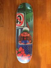 Cease and Desist Chico Brenes Signed Skate Deck 57/100 Thrasher Girl Choclate