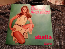 Sheila 45 PS 1976 Special Club French Patrick Mon Cheri/Good Bye My Love Carrere