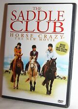 The Saddle Club - Horse Crazy: The New Movie (DVD, 2005) DVD Very Good