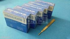 500 STERILE SURGICAL BLADES #10 #11 #12 #15C #16 W/ FREE SCALPEL KNIFE HANDLE #3
