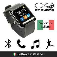 endubro SMARTWATCH U-WATCH BLUETOOTH TOUCHSCREEN ANDROID E IOS - NERO