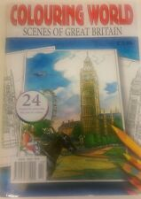 """ADULT COLOURING BOOK """"SCENES OF GREAT BRITAIN"""""""