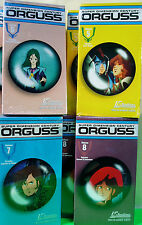 4 ORGUSS VHS TAPES VOLUMES 5-8 0ne EACH  MINT NEVER OPENED US RENDITIONS ANIME