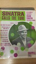 Sinatra Calls The Tune: Music Score (B4)