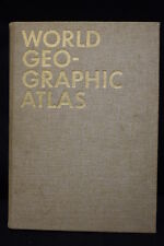 Limited 1953 WORLD GEOGRAPHIC ATLAS by Herbert Bayer for Container Corp. America