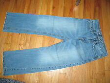 Men's/Youth  American Eagle Relaxed Light Distressed Jeans 26X28 Good Condition