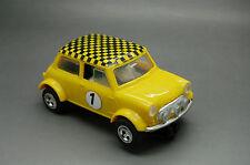 Vintage Scalextric C7 Rally Mini Cooper #1