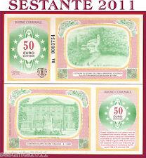 ITALIA  ITALY BUONO D'ACQUISTO 50 centesimi di Euro  OZZANO NELL'EMILIA  FDS/UNC