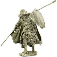 *The Teutonic Knight* Tin toy soldiers miniature statue. metal sculpture