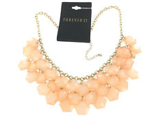 Forever 21 Peaches and Cream Necklace