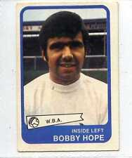 (Lr136-100) ABC Gum, Footballers Yellow Back, #90, Hope,  W.B.A. 1968, EX