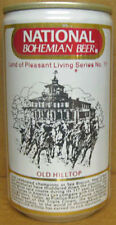 NATIONAL BOHEMIAN BEER Can No11 OLD HILLTOP Baltimore MARYLAND Horse Racing gd.1