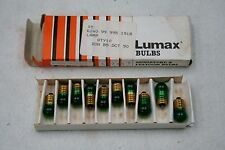 Lumax Bulb pack of 10 24v 2.8w screw in with green lens No245