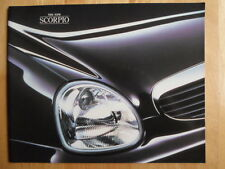 FORD Scorpio 1994-95 large format glossy sales brochure - Ghia Ultima Executive