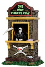 LEMAX SPOOKY TOWN CARNIVAL TICKET BOOTH KIOSK -  ITEM # 43066 NIP - RETIRED