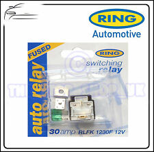 Anello 12v con fusibile 30amp SWITCHING relay rlfk1230f