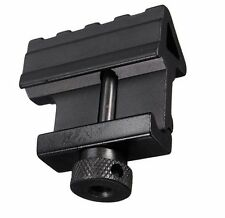 1xTactical 45 Degree Angle Offset 20mm Weaver Rail Mount Picatinny Quick Release