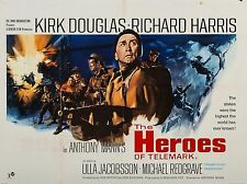 """The Heroes of Telemark 16"""" x 12"""" Reproduction Movie Poster Photograph 2"""