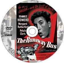 The Runaway Bus - Margaret Rutherford, Frankie Howerd, Petula Clark  DVD 1954