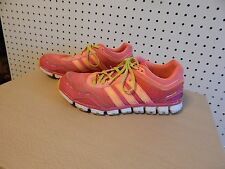 Women's adidas climacool running shoes - size 8 - pink yellow