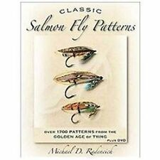 CLASSIC SALMON FLY PATTERNS - NEW HARDCOVER BOOK