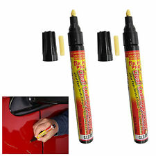 2x Fix It Pro Clear Coat Car Paint Scratch Remover Painting Repair Pen Tool