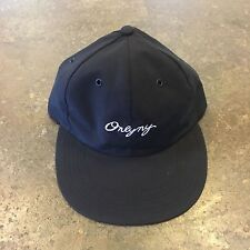 "ONLY NY ""LODGE POLO HAT"" UNSTRUCTURED 6 PANEL (BLACK) --FAST FREE SHIPPING--"