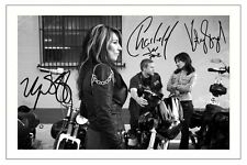 CHARLIE HUNNAM SAGAL SIFF SONS OF ANARCHY SIGNED PHOTO PRINT AUTOGRAPH SOA