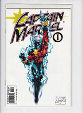CAPTAIN MARVEL V3 #1-VARIANT WHITE COVER  VF/NM