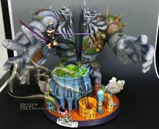 MRC&YUME One Piece Zoro vs Pica huge Big resin statue figure Fighting scenes