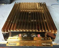 Old School Zapco S80 GOLD PLATED 2 channel competition Amplifier,RARE,USA,SQ