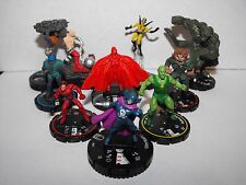MARVEL HEROCLIX MASTERS OF EVIL TEAM WITH SUPER RARE ABSORBING MAN AND TITANIA