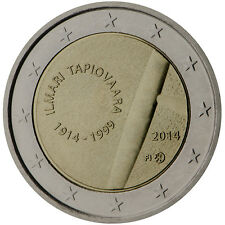 Finland 2014 - 2 Euro Comm - 100th Anniversary Birth of Ilmari Tapiovaara (UNC)