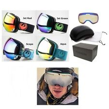 NEW Dragon APXs Spherical Frameless Mens Ski Snowboard Goggles 2 lenses Msrp$200
