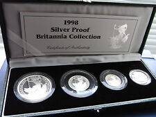 1998 Silver Proof Britannia Collection