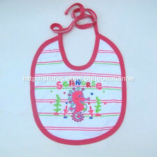 SUPER CHEAP! KEROKID BABY BIB ANIMAL PRINT SEAHORSE MADE IN THAILAND BNEW