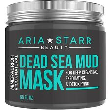 Aria Starr Beauty Dead Sea Mud Mask For Face Acne Oily Skin & Blackheads - Be...