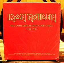 IRON MAIDEN - Complete Albums Collection - (UK 2014)  **NEW BOX SET**