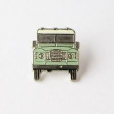 Land Rover Defender Series 3 Enamel Pin Badge in Duck Egg Green colour
