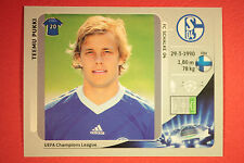 PANINI CHAMPIONS LEAGUE 2012/13 N. 117 PUKKI SCHALKE 04 BLACK BACK MINT!