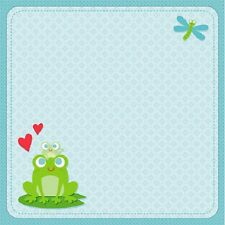 Scrapbook Paper 3D 12 x 12 inches BABY BOY - 2 Sheets  BBBE
