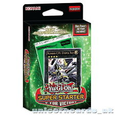 Yu-Gi-Oh! Super Starter 2013: V for Victory 1st Edition Deck New And Sealed Box