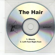 (DS821) The Hair, Ghosts / Left Foot Right Foot - DJ CD