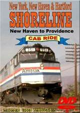 Amtrak Shoreline Cab Ride New Haven CT to Providence RI DVD NEW F40PH Part 1