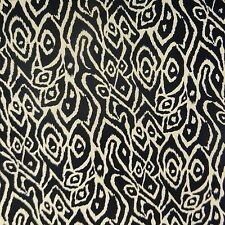 "Indian Black Pure Cotton Fabric Crafts 50"" Wd By 1 Metre FBC7350A"