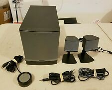 Bose Companion 3 Series II Multimedia Speaker System complete working condition