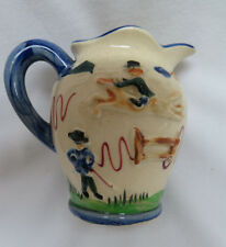 Vintage Horse Pottery Water Pitcher #314