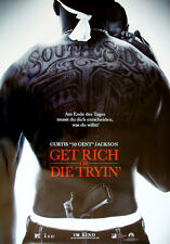 Get Rich Or Die Tryin' ORIGINAL A 1 Kinoplakat 50 Cent